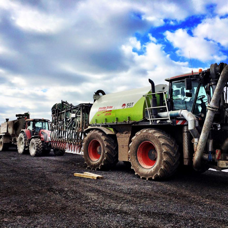 Slurry equipment convoy 2