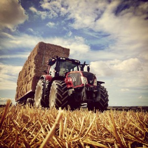 hauling barley